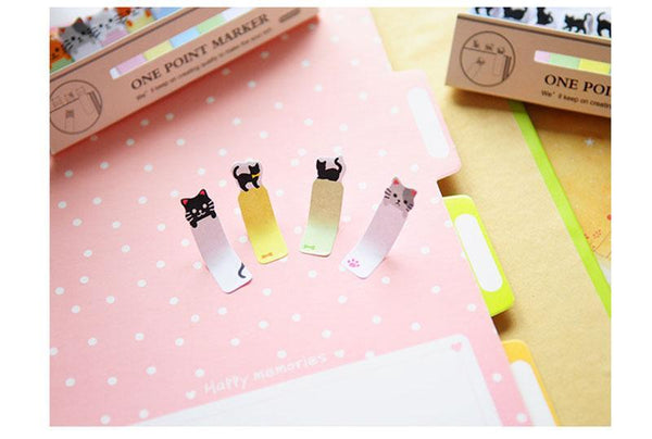 Adorable Kitty Cat Sticky Notes