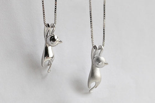 Hang In There! Cat Necklace - CatWearInc