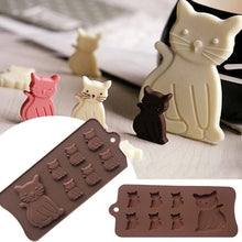 Cat Chocolate Silicone Mold
