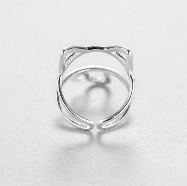 The Cats Meow Ring - Sterling Silver