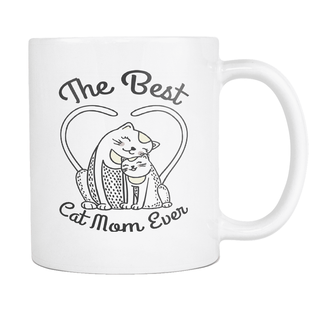 The Best Cat Mom Ever Mug