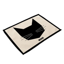 Cat Prints Dining Table Placement Mats