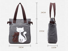 Furriends Forever Canvas Cat Tote bag