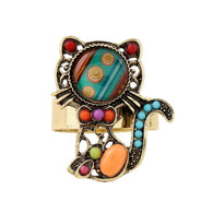 Cat Ring, Whimsical Vintage, Cat World Products