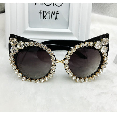 Luxurious Cat Eye Sunglasses