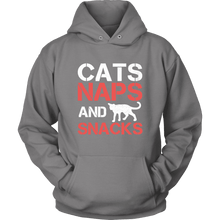 Cats, Naps, and Snacks Shirt & Hoodie