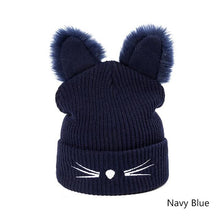 Winter Wild Cat Beanie