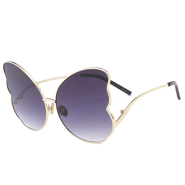 Retro Butterfly Shaped Sunglasses