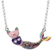 Purrmaid - Live In Color Necklace