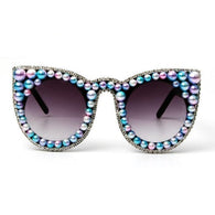 Color Me Perfect Pearl Cat Eye Sunglasses
