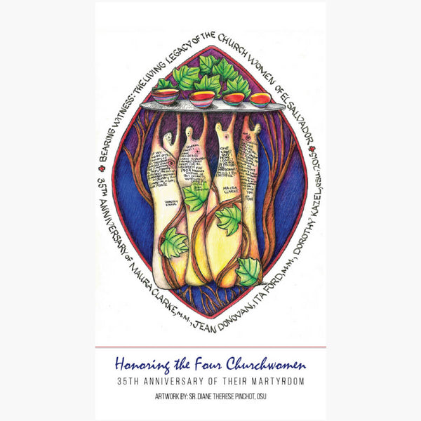 Church Women of El Salvador Prayer Cards (Pack of 25)