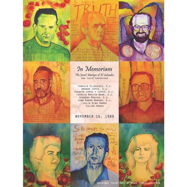 Jesuit Martyrs of El Salvador and Their Companions Poster