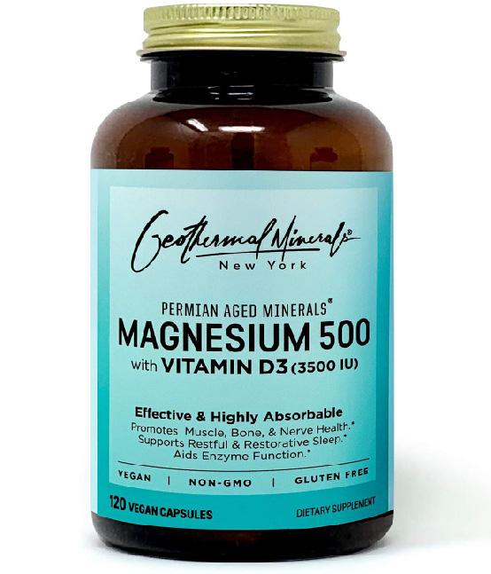 Magnesium 500 with Vitamin D3 (3500 IU) and B7