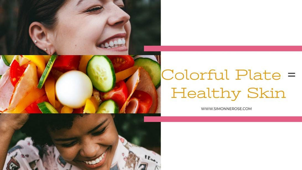 Colorful Plate = Healthy Skin