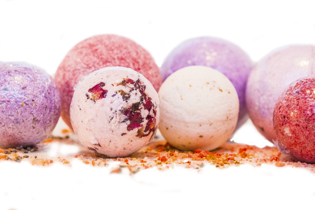SimonneRose Bath Bombs 100% Natural Skincare