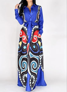 """Art In Motion"" Maxi Dress"