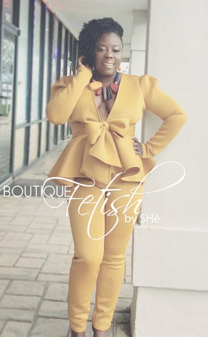 """Butter-Fly"" 2pc Suit"