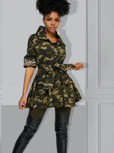 Load image into Gallery viewer, Sequin Camo Jacket