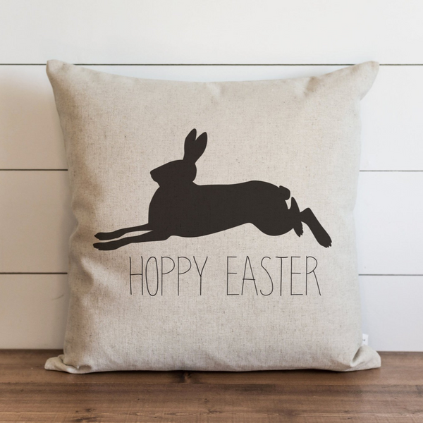 HOPPY EASTER Pillow Cover. - Porter Lane Home
