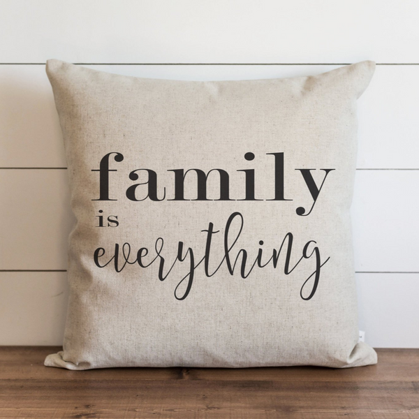 Family Is Everything Pillow Cover. - Porter Lane Home