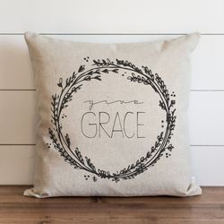Give Grace Pillow Cover. - Porter Lane Home
