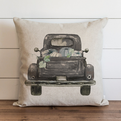 Fall Truck {Style 2} Pillow Cover. - Porter Lane Home