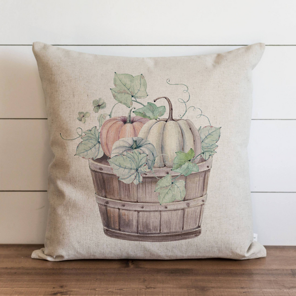 Pumpkin Basket Pillow Cover - Porter Lane Home