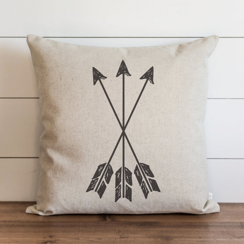 Arrows_3 Pillow Cover. - Porter Lane Home
