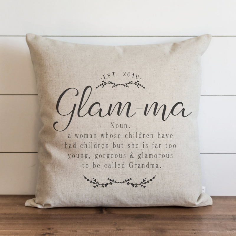 Glamma Pillow Cover. - Porter Lane Home