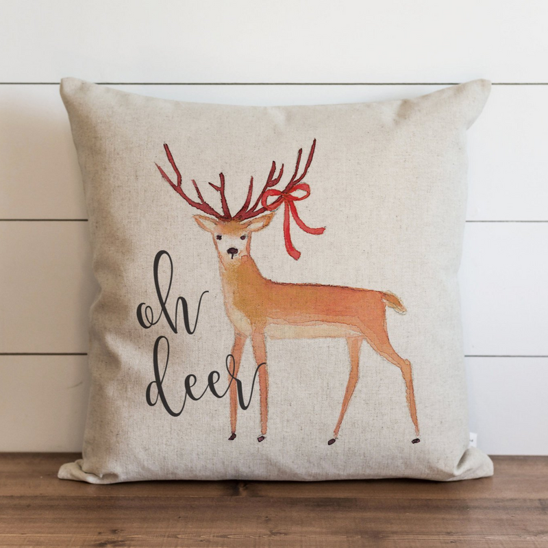 Oh Deer Pillow Cover. - Porter Lane Home