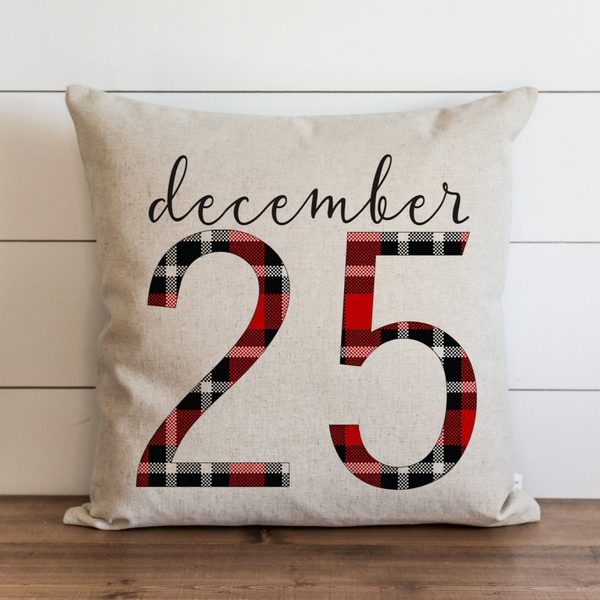 December 25 Pillow Cover. - Porter Lane Home