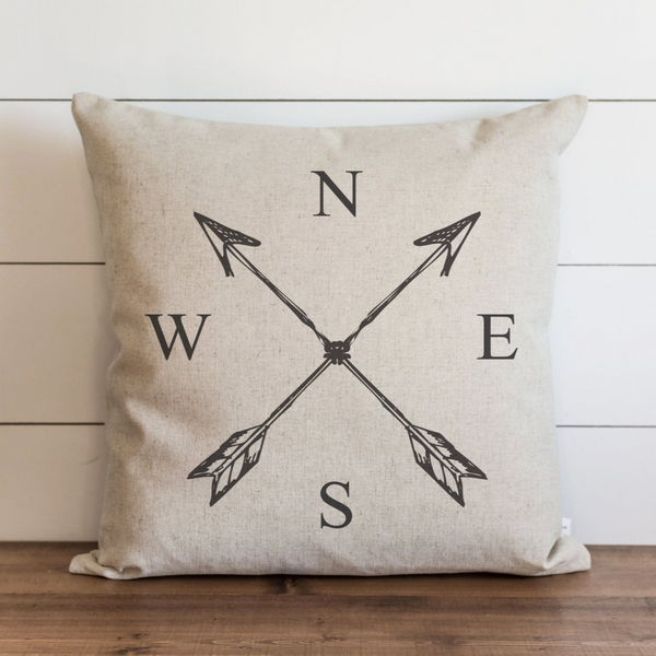 NESW Pillow Cover. - Porter Lane Home
