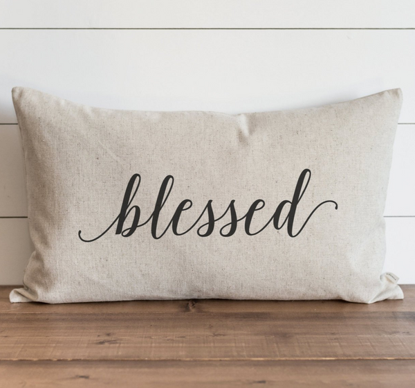 Blessed Pillow Cover. - Porter Lane Home