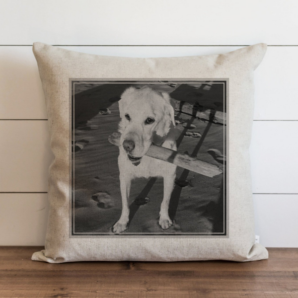 Personalized Dog Pillow Cover. - Porter Lane Home
