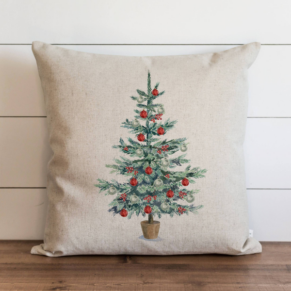 Christmas Tree Pillow Cover. - Porter Lane Home
