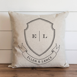Family Crest_First Names Pillow Cover. - Porter Lane Home