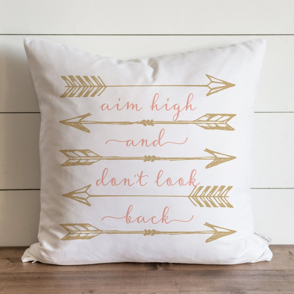 Aim High Pillow Cover. - Porter Lane Home