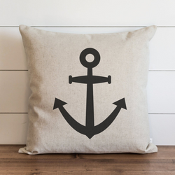 Anchor Pillow Cover. - Porter Lane Home