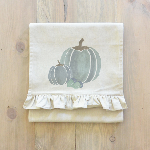 Watercolor Pumpkins Table Runner - Porter Lane Home