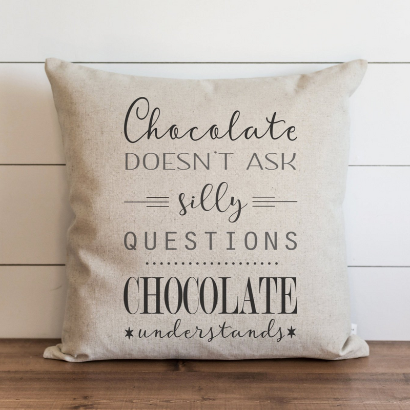 Chocolate Pillow Cover. - Porter Lane Home