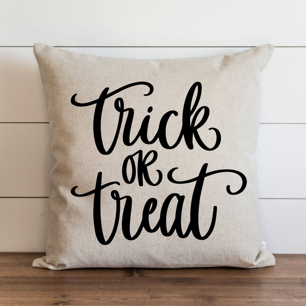 Trick or Treat  Pillow Cover. - Porter Lane Home