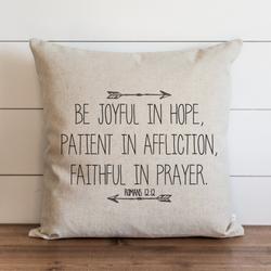 Be Joyful Pillow Cover. - Porter Lane Home