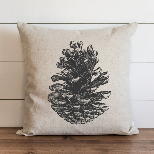 Pine Cone Pillow Cover. - Porter Lane Home