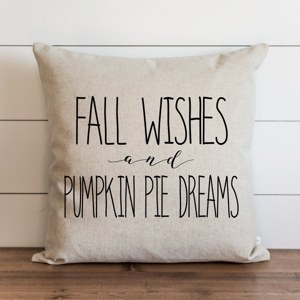 Fall Wishes Pillow Cover. - Porter Lane Home