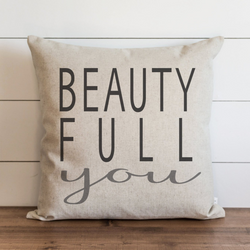 Beauty Full You Pillow Cover. - Porter Lane Home