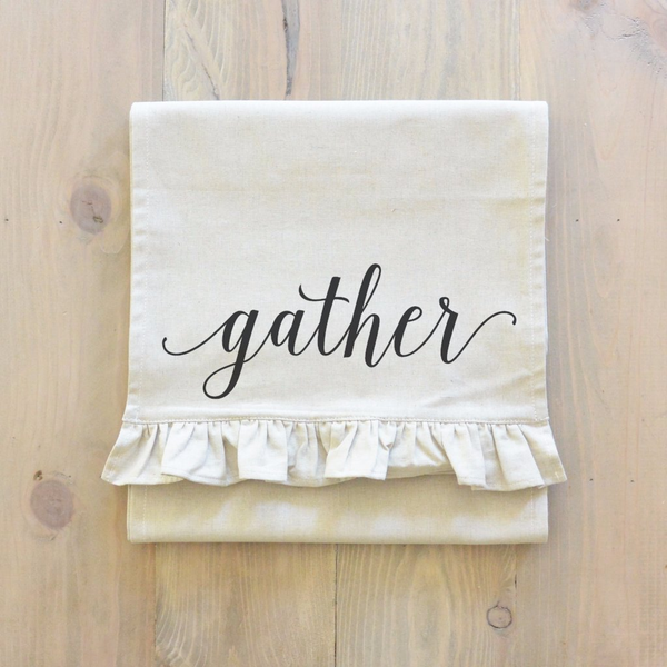 Gather Table Runner - Porter Lane Home