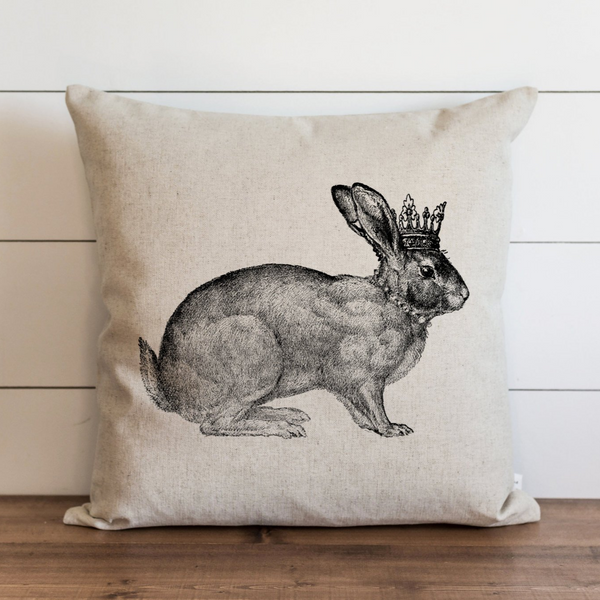 Queen Rabbit Pillow Cover. - Porter Lane Home