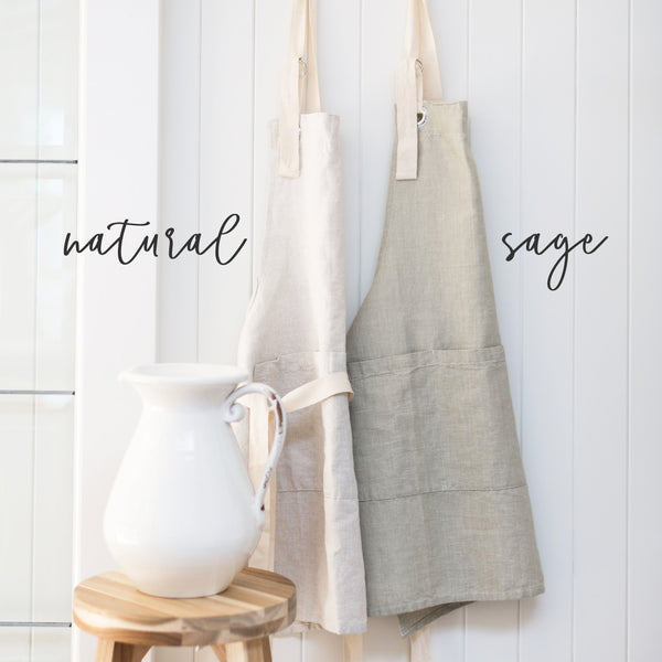 Bake Words Apron - Porter Lane Home