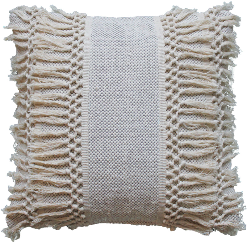 Boho Fringe Pillow Cover - Porter Lane Home