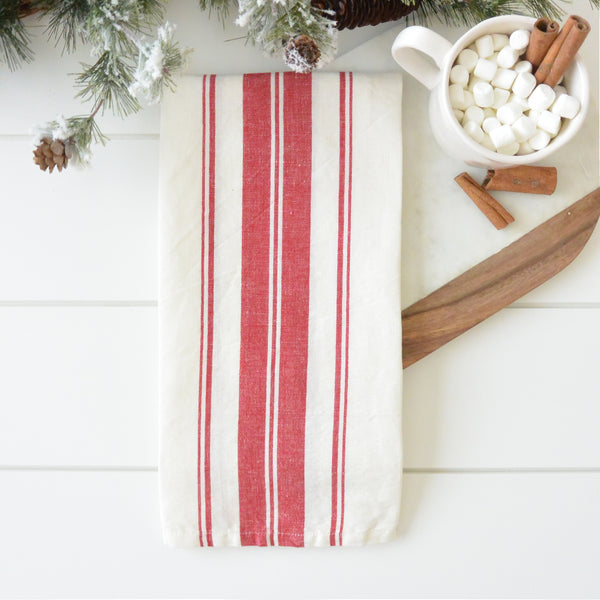 Cabana Stripe Tea Towel - Porter Lane Home
